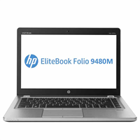 HP Folio 9480m - i7 4600U / 4GB / SSD 120GB / 14""