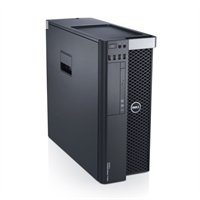 Máy trạm Dell Precision T3600 Workstation Xeon Quad Core E5-1650 / RAM 16GB ECC REG / SSD 120GB + HDD 500GB / VGA Nvidia GTX 1050Ti 4GB/128Bit DDR5