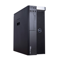 Máy trạm Dell Precision T5600 Dual Xeon Eight Core E5-2670 / RAM DDR3 32GB ECC Reg / 240GB + HDD 1TB / VGA Quadro K4000 3GB/192Bit DDR5